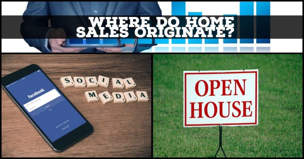 Where do home sales originate?